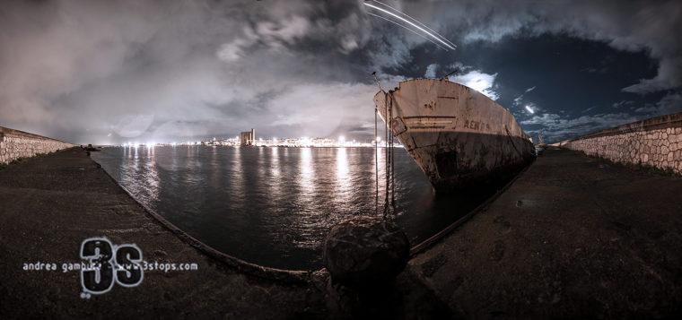 Molo della Mezzaluna @  Cagliari